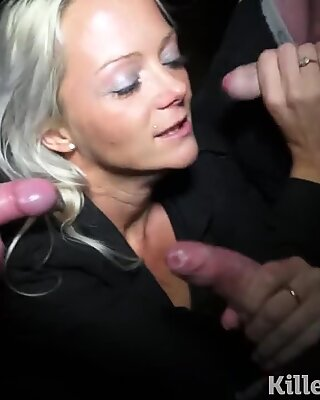 Killergram Horny cock crazy Milf goes dogging for first time