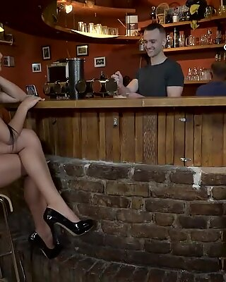 DADDY4K. Man properly nails brunette sweetie in father...