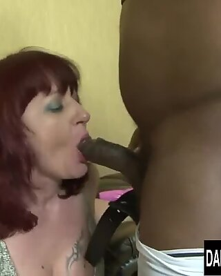 interracial anal invasion bang-out on Mature Women