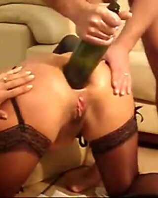 pulverizing, going knuckle deep, gaping & Bottle The Ass - SNC