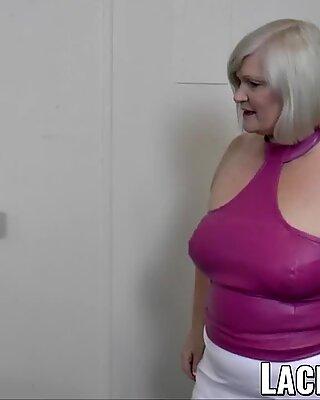 LACEYSTARR - Kinky GILF bondage in lesbian threesome