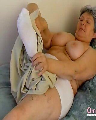 Omahotel Extra Haarig OMA verführerischer Striptease
