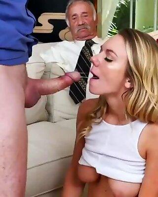 Reif blond ehefrau dreier molly verdient ihren unterhalt