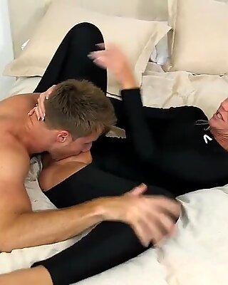 Langvarig sex for en lækker milf