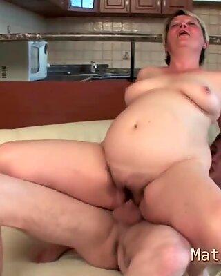 European video of granny fucking