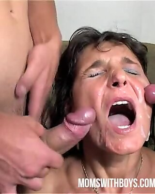 Mama prizes two Boys? rigid Work With Hot DP Action!!
