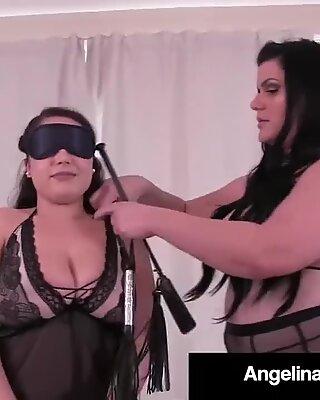 Obze Latin Angelina Castro pedepsește o super-sexy veronica imensă!