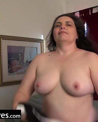 USAWIVES REIF Charlie Fox Solo Spielzeug-Masturbation