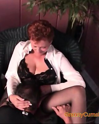 Bi-Granny Sucks, Fucks and Wants Her Pussy Licked