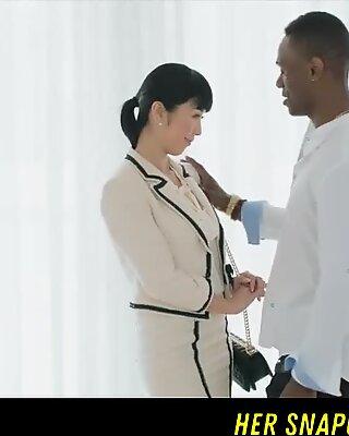 Japanischer Journalist vs Big BBC IR Snapchat - WetMami19 hinzufügen